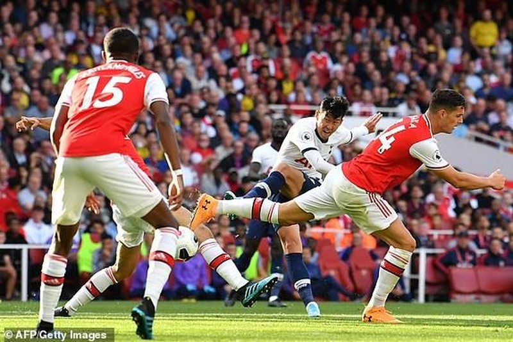 Rượt đuổi tỷ số, Arsenal hòa kịch tính Tottenham tại Emirates - ảnh 4