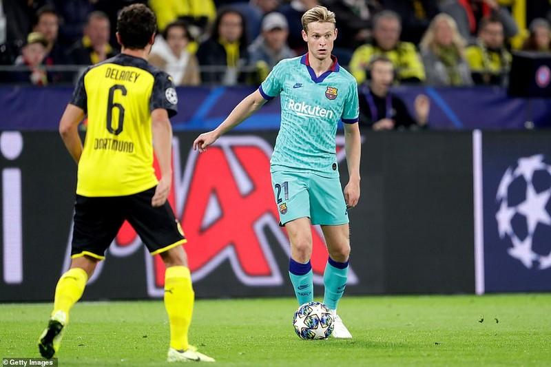Barca hòa chật vật Dortmund, Inter 'toát mồ hôi' có 1 điểm - ảnh 2
