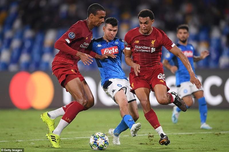 Hậu vệ mắc sai lầm, Liverpool thảm bại trước Napoli - ảnh 2