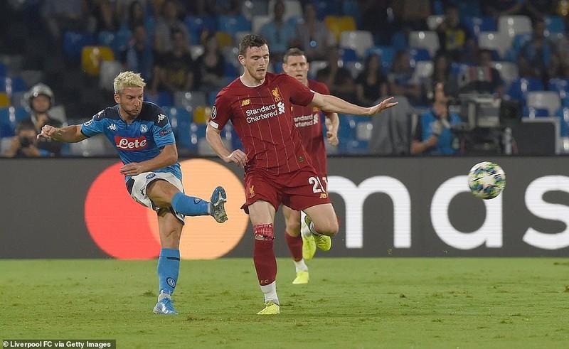 Hậu vệ mắc sai lầm, Liverpool thảm bại trước Napoli - ảnh 3