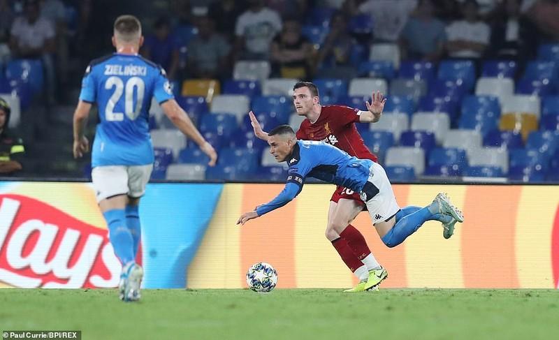 Hậu vệ mắc sai lầm, Liverpool thảm bại trước Napoli - ảnh 4