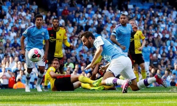 Ghi 5 bàn trong 18 phút đầu hiệp, Man. City 'hủy diệt' Watford - ảnh 3