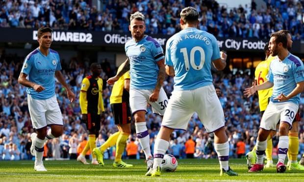 Ghi 5 bàn trong 18 phút đầu hiệp, Man. City 'hủy diệt' Watford - ảnh 4