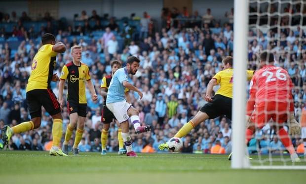 Ghi 5 bàn trong 18 phút đầu hiệp, Man. City 'hủy diệt' Watford - ảnh 5