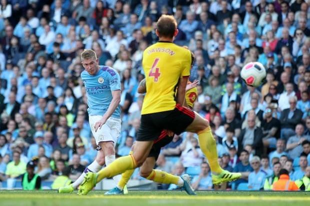 Ghi 5 bàn trong 18 phút đầu hiệp, Man. City 'hủy diệt' Watford - ảnh 6
