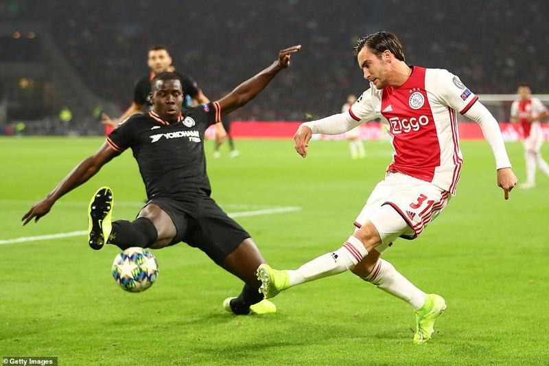 VAR cứu thua giúp Chelsea thắng kịch tính Ajax trên sân khách - ảnh 4