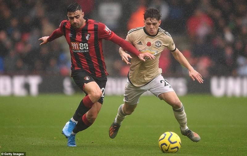 Cột dọc từ chối bàn thắng, MU thua đau trên sân Bournemouth - ảnh 1