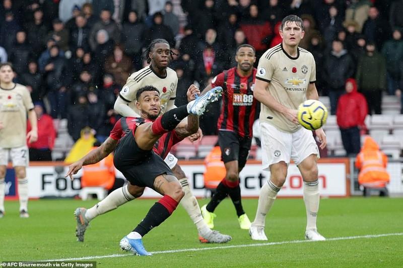 Cột dọc từ chối bàn thắng, MU thua đau trên sân Bournemouth - ảnh 3