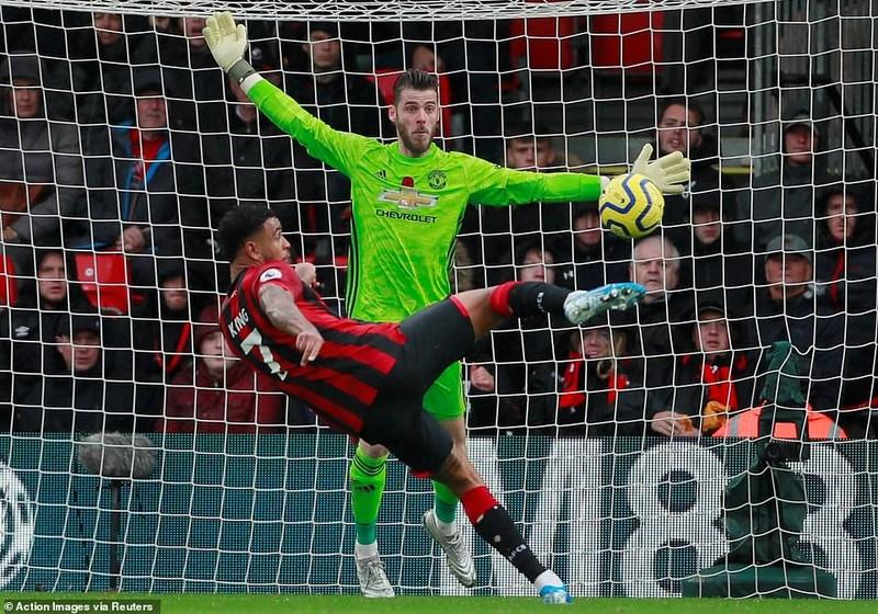 Cột dọc từ chối bàn thắng, MU thua đau trên sân Bournemouth - ảnh 4