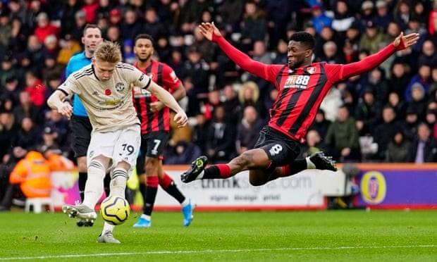 Cột dọc từ chối bàn thắng, MU thua đau trên sân Bournemouth - ảnh 5