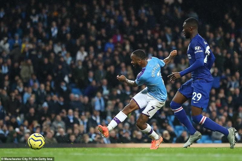 Lội ngược dòng trong hiệp 1, Man City vượt mặt Chelsea - ảnh 6