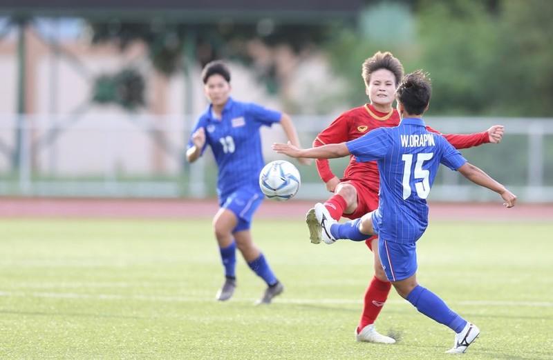 Nữ Việt Nam chia điểm đầy tiếc nuối ở phút cuối trước Thái Lan - ảnh 1