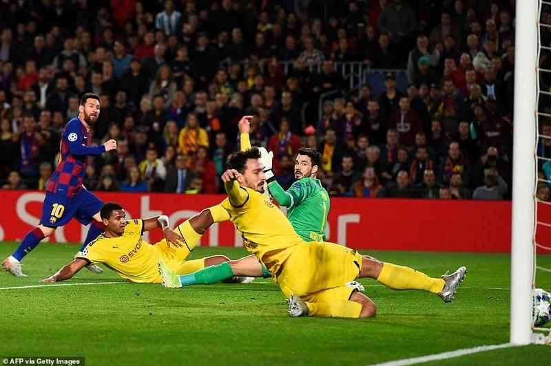 Messi rực sáng, Barcelona chiếm ngôi đầu, bảng H khó lường - ảnh 1