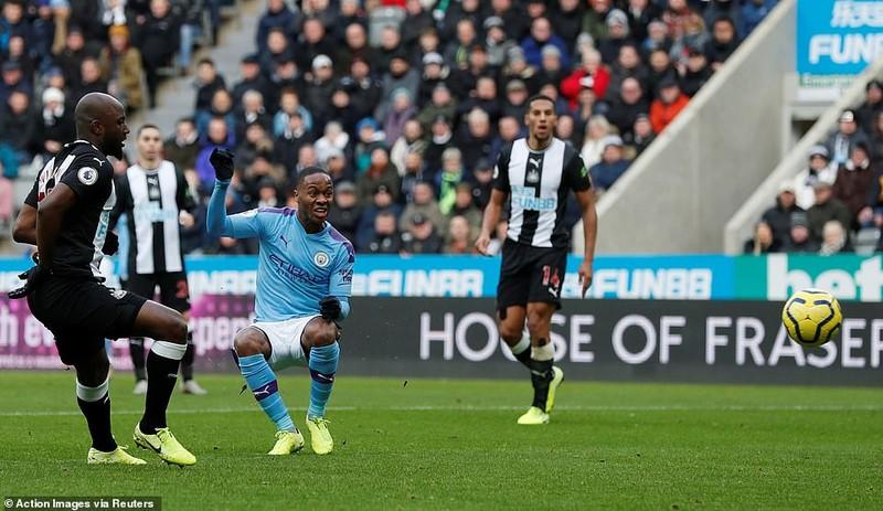 Man City mất điểm phút cuối trước Newcastle - ảnh 1