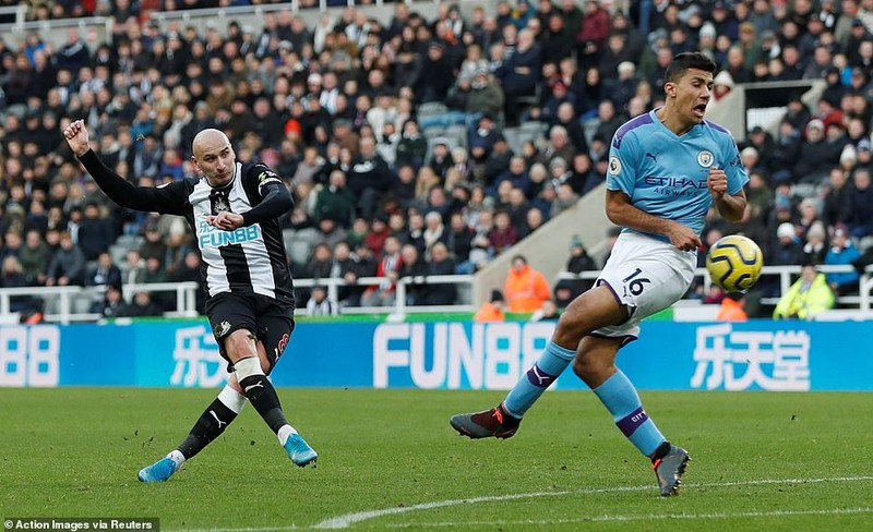 Man City mất điểm phút cuối trước Newcastle - ảnh 5