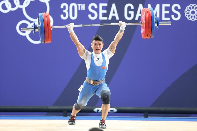 Thạch Kim Tuấn về nhì môn cử tạ SEA Games 30 - ảnh 1