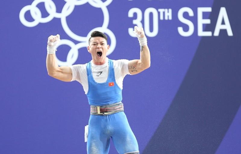 Thạch Kim Tuấn về nhì môn cử tạ SEA Games 30 - ảnh 2