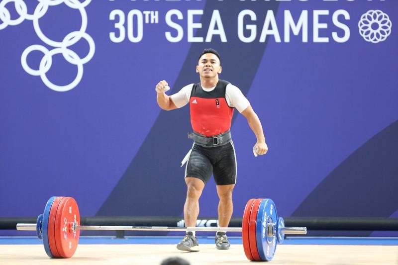 Thạch Kim Tuấn về nhì môn cử tạ SEA Games 30 - ảnh 3