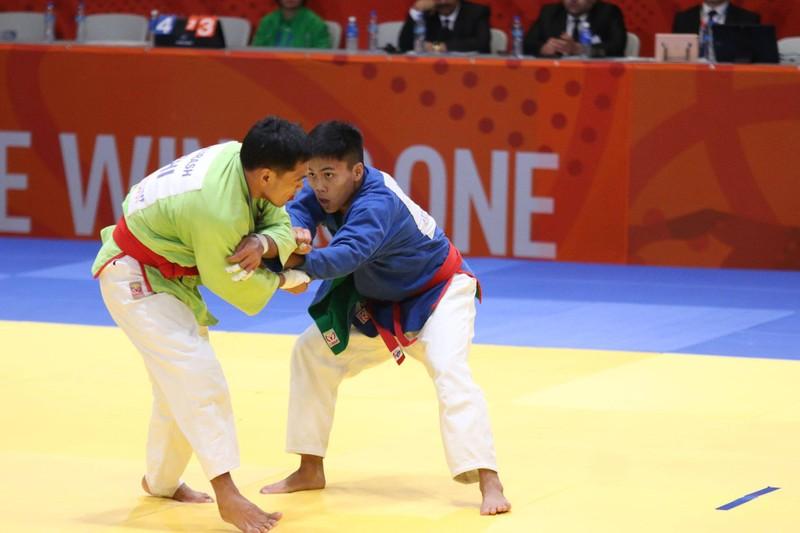 Tuyển Kurash Việt Nam giành 5 HCV trong ngày thi đấu thứ 2 - ảnh 2