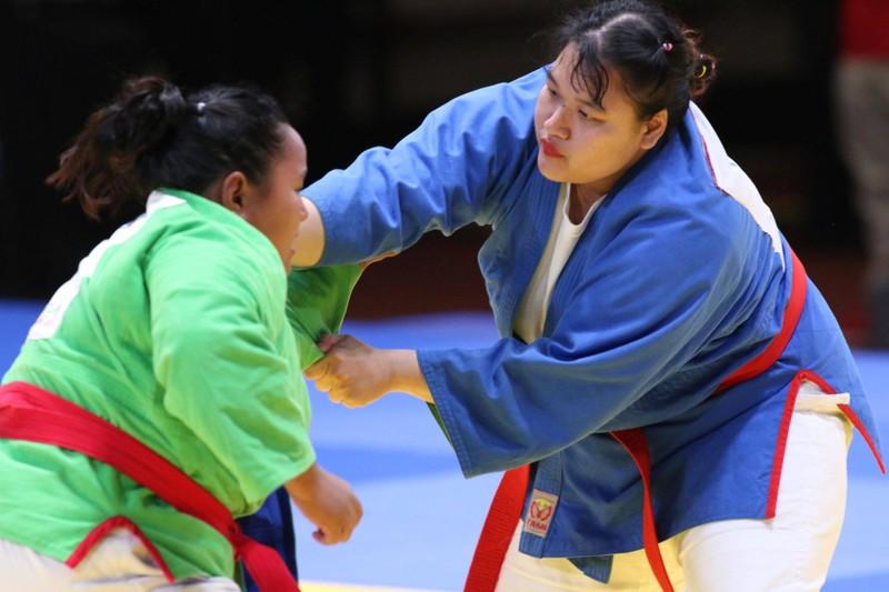 Tuyển Kurash Việt Nam giành 5 HCV trong ngày thi đấu thứ 2 - ảnh 1