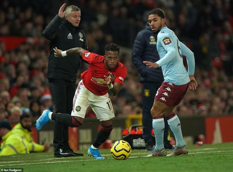 Thi đấu vô hồn, MU chia điểm trước Aston Villa trên sân nhà - ảnh 1