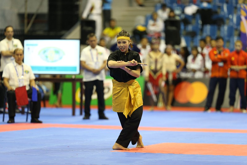 Võ gậy và Wushu tiếp tục 'gặt vàng' SEA Games 30 - ảnh 3