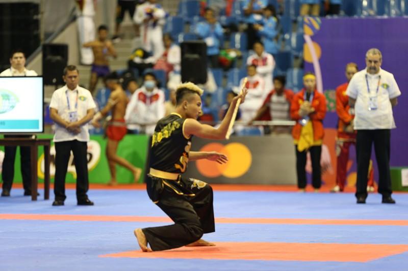 Võ gậy và Wushu tiếp tục 'gặt vàng' SEA Games 30 - ảnh 2