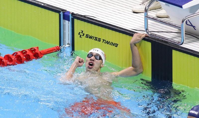 Phương Thành giành 'cú đúp vàng' môn TDDC tại SEA Games 30 - ảnh 1
