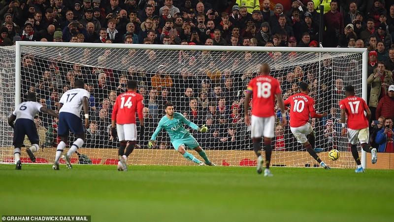 Rashford lập cú đúp, MU quật ngã Tottenham tại Old Trafford - ảnh 4