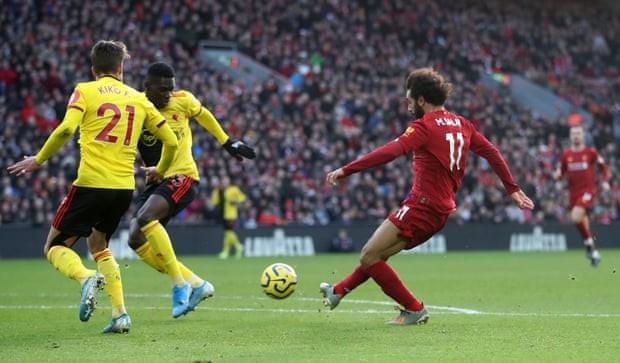 Salah lập 'cú đúp', Kloop ăn mừng hợp đồng mới cùng Liverpool - ảnh 2