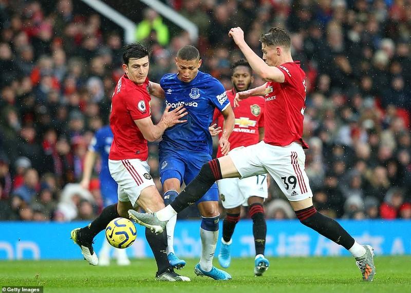 Hậu vệ 'đốt đền', sao trẻ tỏa sáng giúp MU thoát thua Everton - ảnh 5