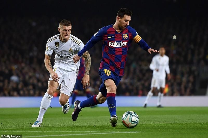 Siêu kinh điển Barcelona - Real thiếu bàn thắng, thừa thẻ phạt - ảnh 1
