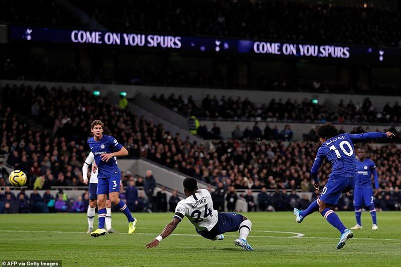 Sao Hàn nhận thẻ đỏ, Tottenham thảm bại trước Chelsea - ảnh 1
