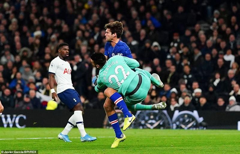 Sao Hàn nhận thẻ đỏ, Tottenham thảm bại trước Chelsea - ảnh 3
