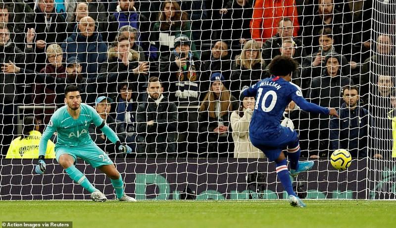 Sao Hàn nhận thẻ đỏ, Tottenham thảm bại trước Chelsea - ảnh 4