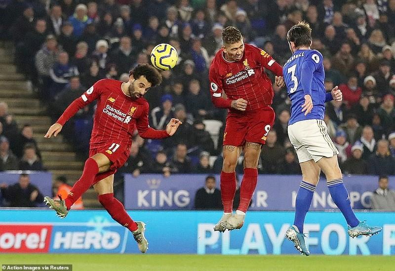 """Ghi 3 bàn chưa đến 10 phút, Liverpool """"xử đẹp"""" Leicester City - ảnh 2"""
