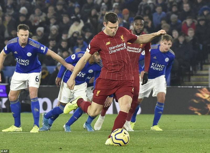 """Ghi 3 bàn chưa đến 10 phút, Liverpool """"xử đẹp"""" Leicester City - ảnh 4"""