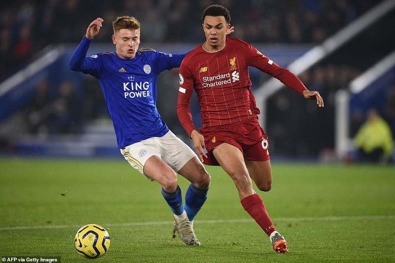 """Ghi 3 bàn chưa đến 10 phút, Liverpool """"xử đẹp"""" Leicester City - ảnh 6"""
