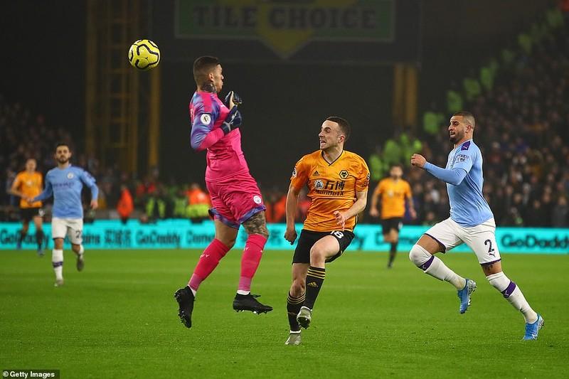 Dẫn 2 bàn, Man. City vẫn thua sốc Wolves 10 phút cuối - ảnh 1