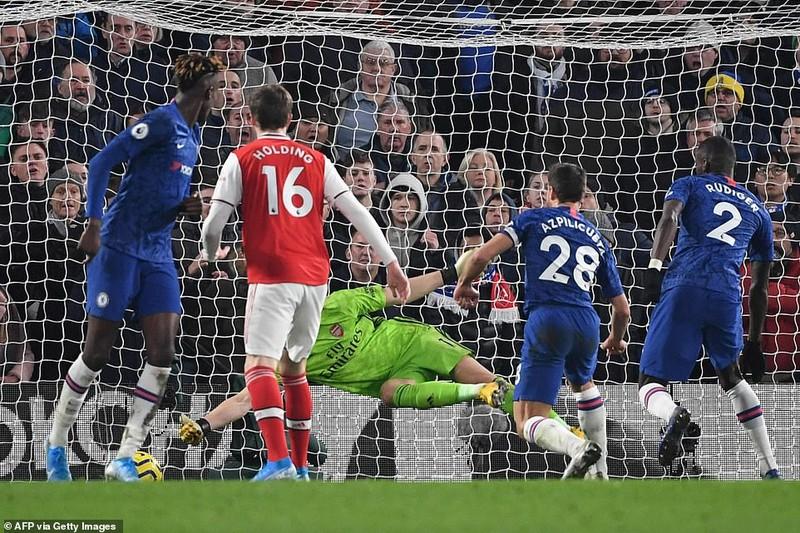 Chelsea-Arsenal hòa kịch tính, Man.City thắng khó đội cửa dưới - ảnh 4