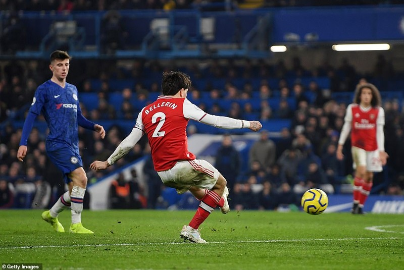 Chelsea-Arsenal hòa kịch tính, Man.City thắng khó đội cửa dưới - ảnh 5