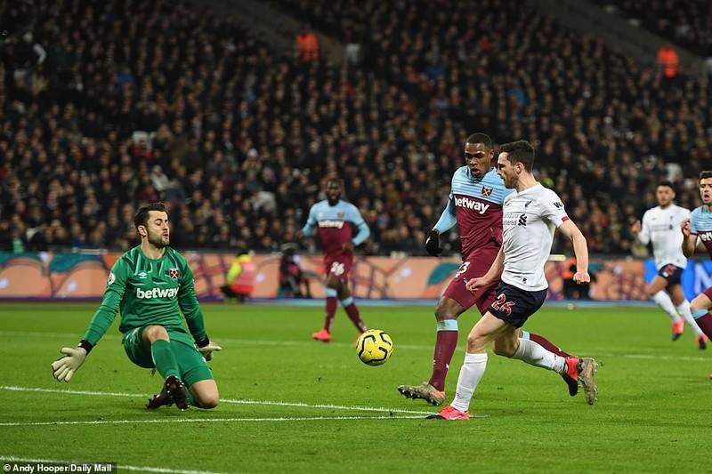 Thắng dễ West Ham, Liverpool tạo nên khoảng cách không tưởng - ảnh 3