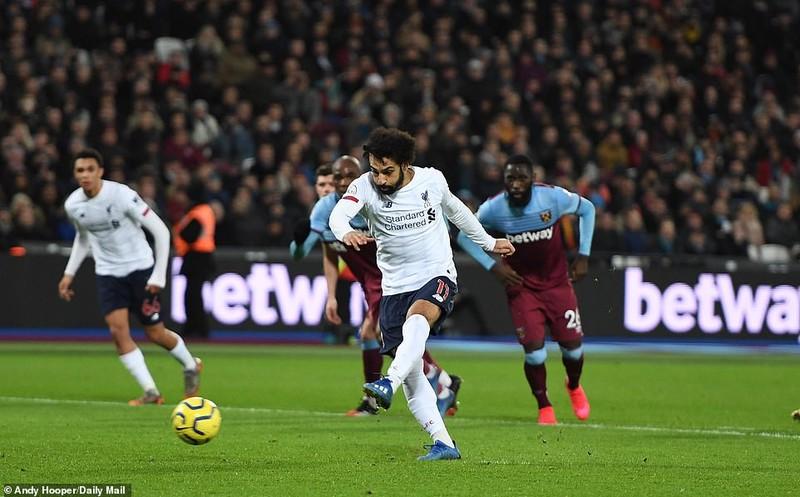 Thắng dễ West Ham, Liverpool tạo nên khoảng cách không tưởng - ảnh 2