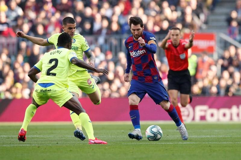 Messi tiếp tục 'tịt ngòi', Barca thắng khó Getafe tại Nou Camp - ảnh 3