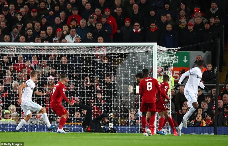 Liverpool thắng khó West Ham bằng màn rượt đuổi tỉ số  - ảnh 2