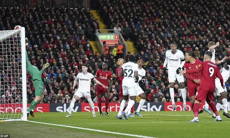 Liverpool thắng khó West Ham bằng màn rượt đuổi tỉ số  - ảnh 3