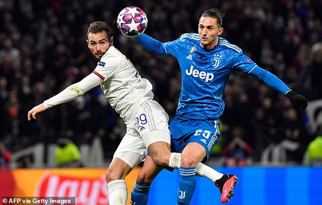 Ronaldo 'tịt ngòi', Juventus thua sốc trước Lyon trên đất Pháp - ảnh 4