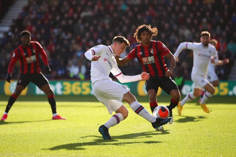 Hòa nhọc nhằn trên sân Bournemouth, Chelsea lung lay tốp 4 - ảnh 1