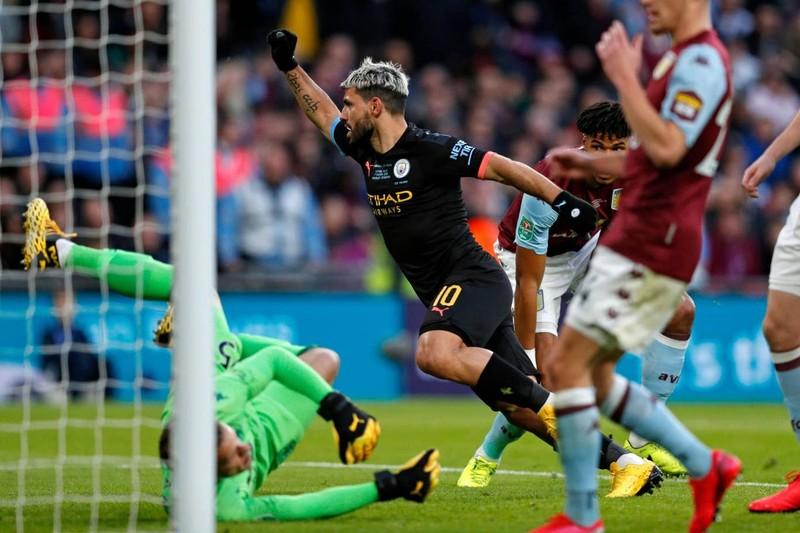 Hạ Aston Villa, Man. City lập hat trick vô địch League Cup - ảnh 2