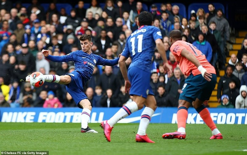Vùi dập Everton tại Stamford Bridge, Chelsea giữ vững tốp 4 - ảnh 1